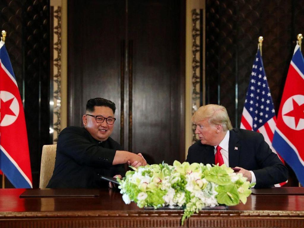 Kim Jong-Un Kirim Pesan Damai untuk Trump Soal Perundingan Nuklir
