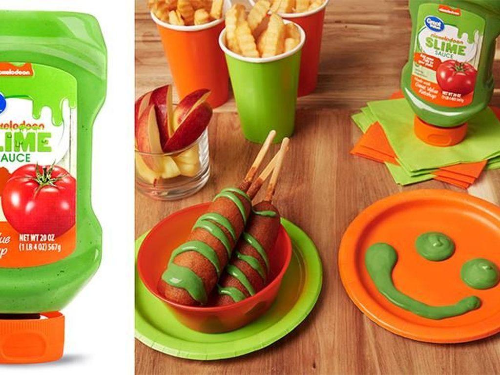 Wah, Kini Ada Saus Hijau dari Slime Nickelodeon yang Terkenal