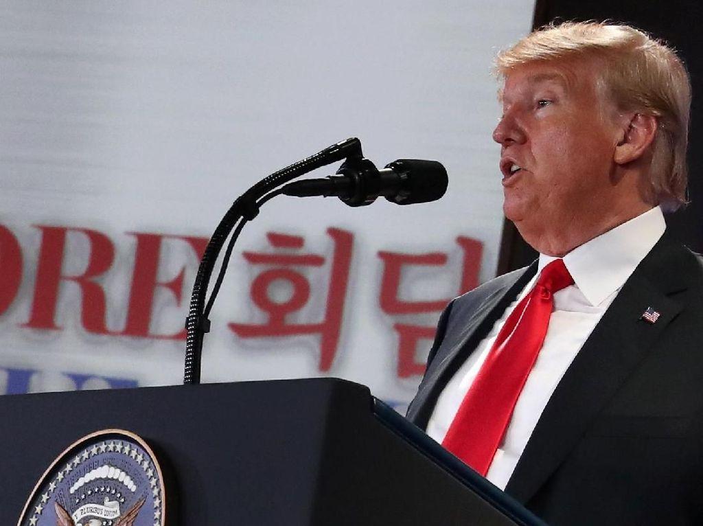 Trump Tunjukkan Video Masa Depan Korut ke Kim Jika Pilih Damai