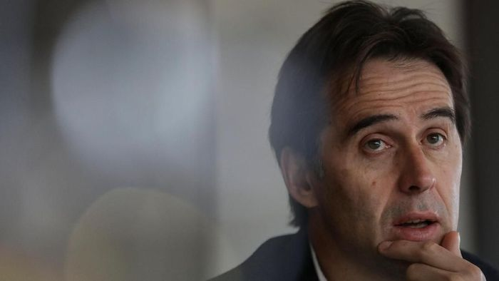 Julen Lopetegui dipecat setelah membawa Spanyol tak terkalahkan dalam 20 laga. (Susana Vera/Reuters)
