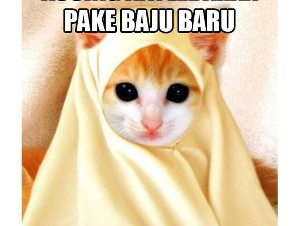 Meme Kocak Netizen Soal Baju Lebaran
