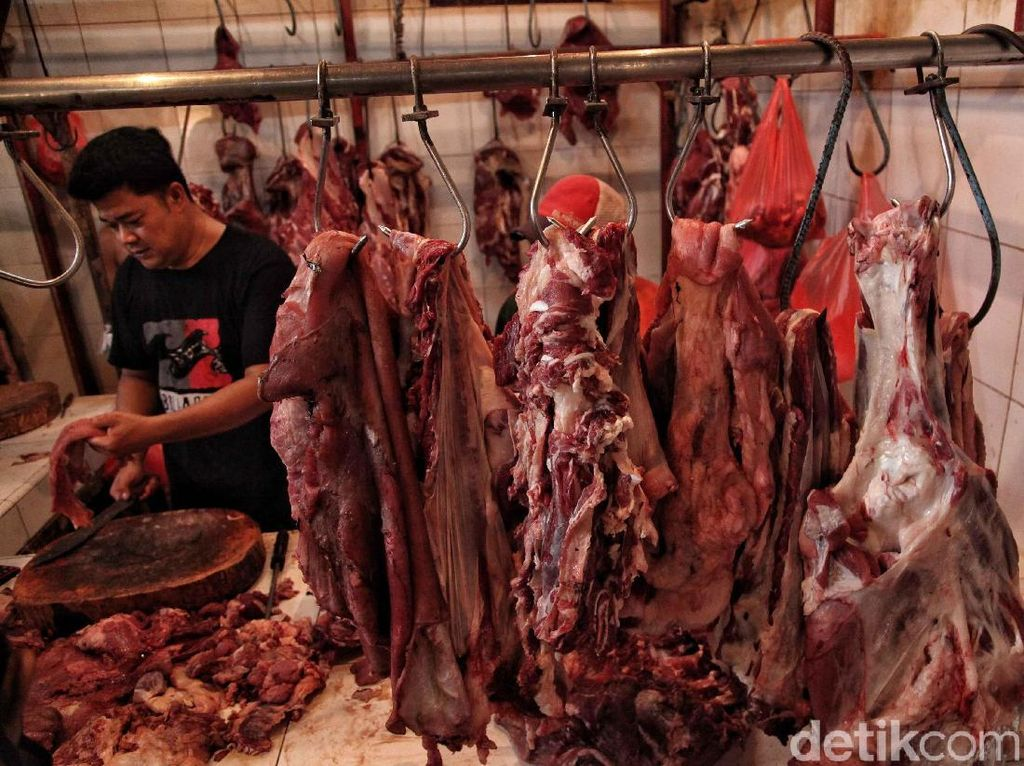 Jelang Tutup Tahun, Harga Daging Sapi Stagnan di Rp 120.000/Kg