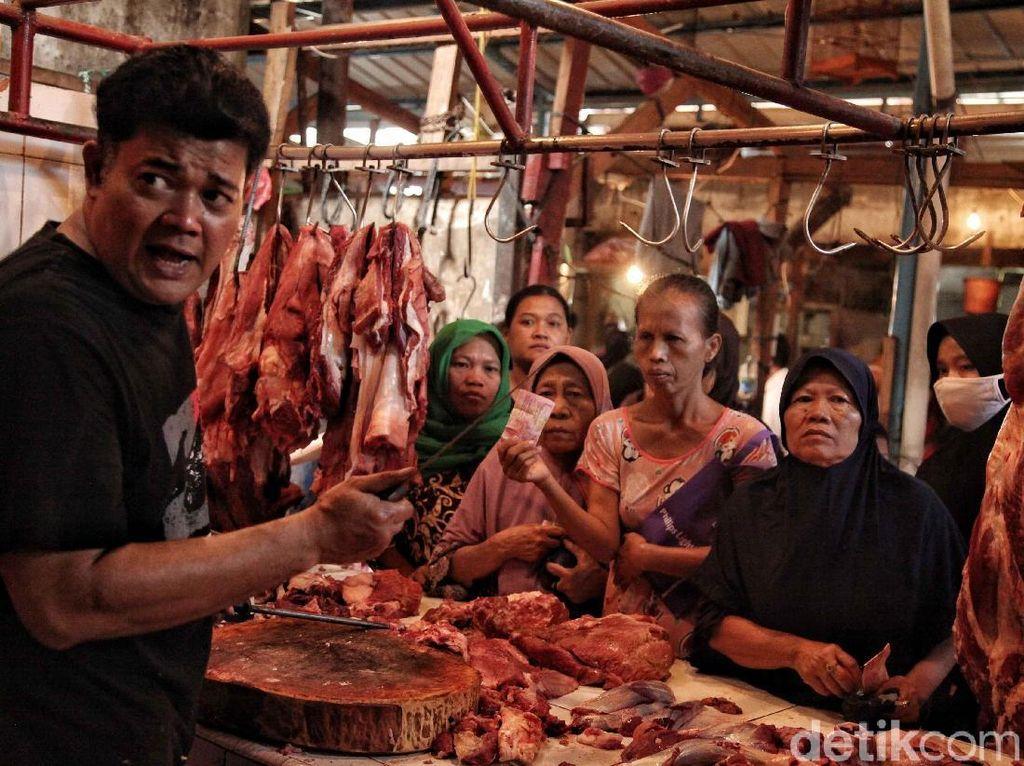 Pasca Lebaran, Daging Sapi Dijual Rp 130.000/Kg
