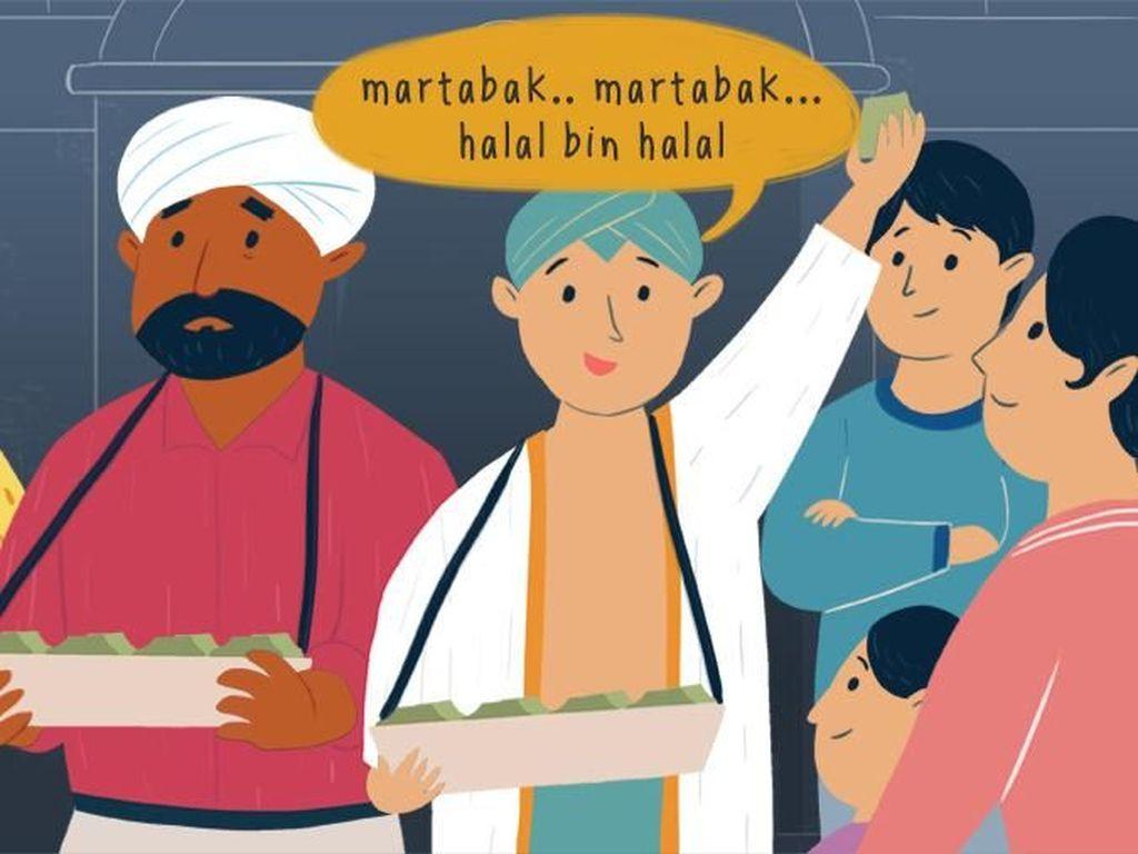 Tukang Martabak India dan Asal Usul Halal Bihalal