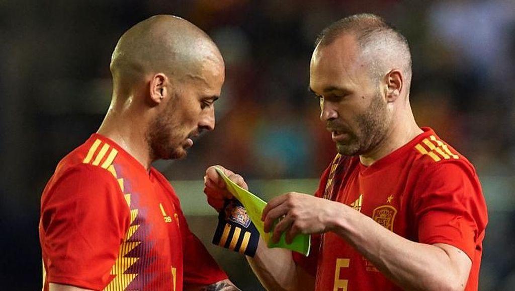 Utak-atik Formasi Spanyol di Piala Dunia 2018