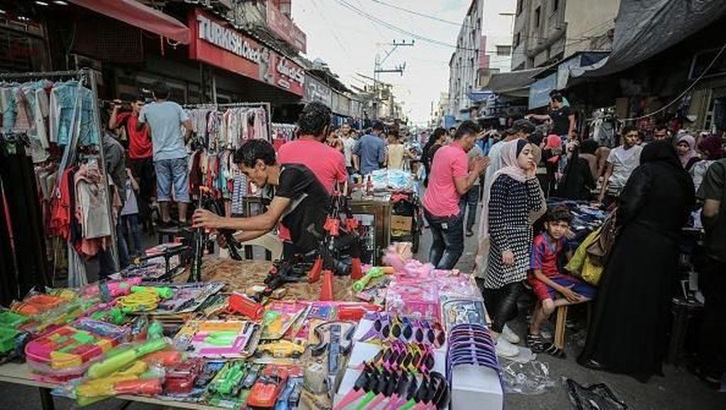 Mengintip Persiapan Lebaran ala Warga Gaza