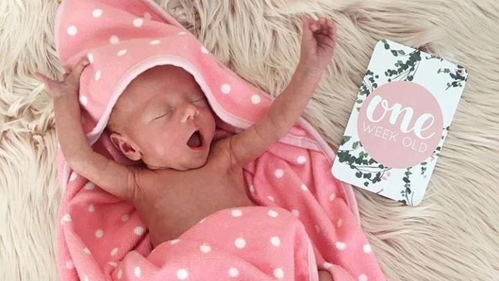 Foto-foto Baby Alaia, Putri Kecilnya Marissa Nasution yang Imut