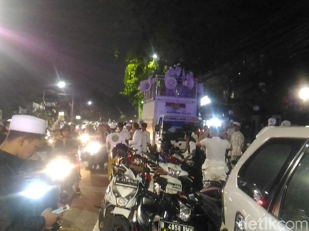 Foto: Malam Takbiran Front Pembela Islam di Jakarta