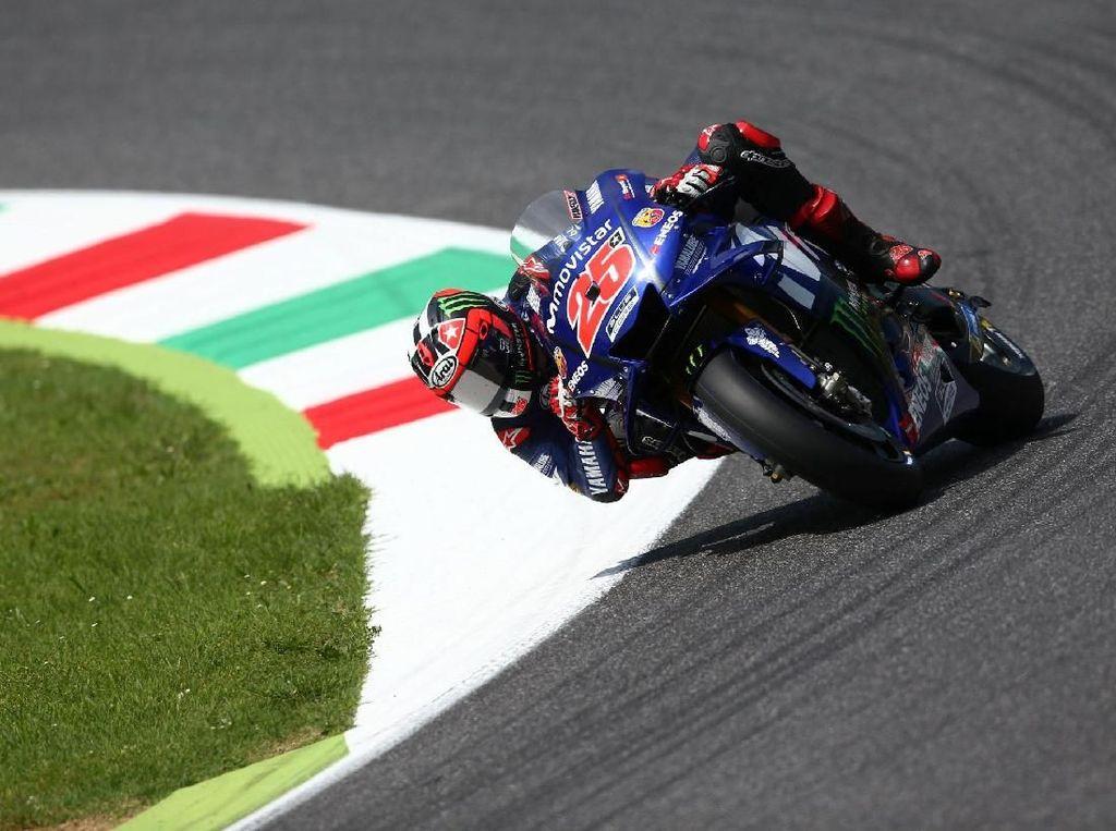 Strategi Vinales di MotoGP Belanda: Gas Pol