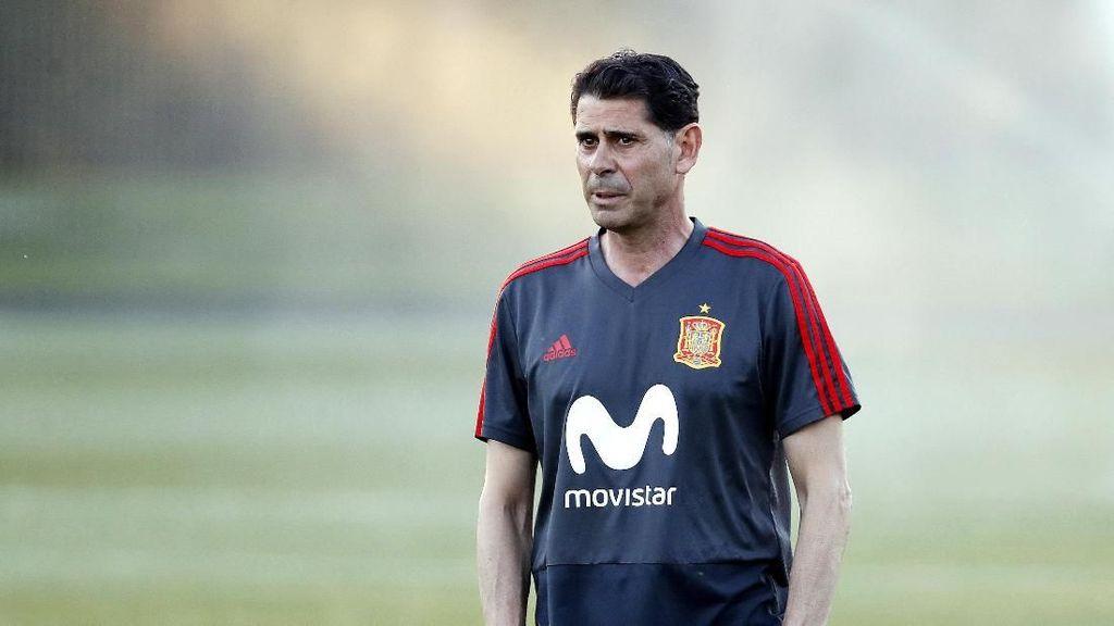 Latihan Pertama Hierro dan Komitmennya Sebagai Pelatih Spanyol