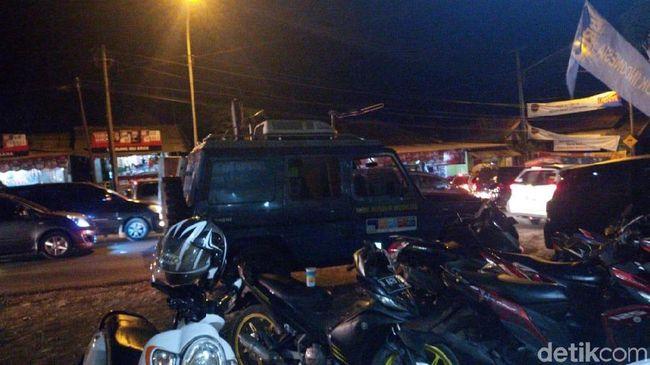 Nagreg Macet H-1 Lebaran, Polisi Berlakukan Sistem Satu Arah