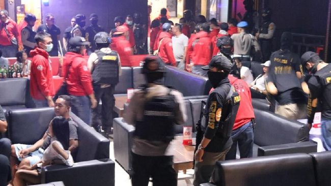 Razia Tempat Hiburan, Polda Bali Amankan 8 Terduga Pengguna Narkoba