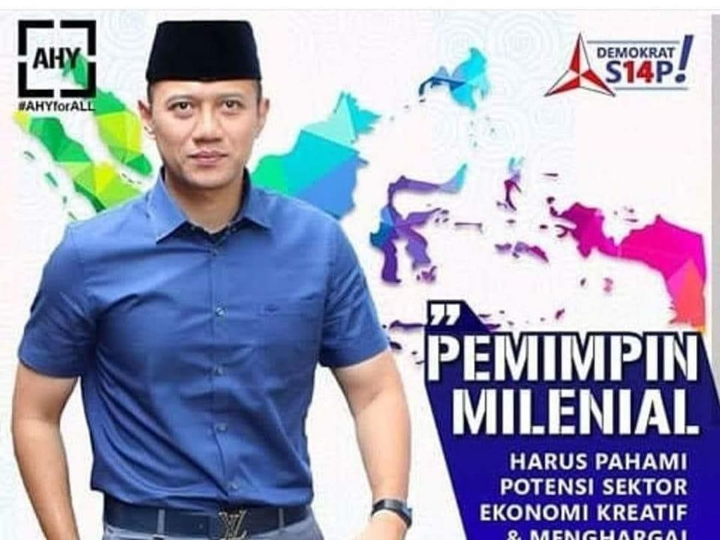 Heboh Sabuk LV AHY Merambat ke Chopper-Sneakers Jokowi