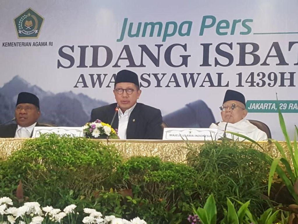 Pemerintah Tetapkan Lebaran Idul Fitri 1439 H Jatuh pada 15 Juni
