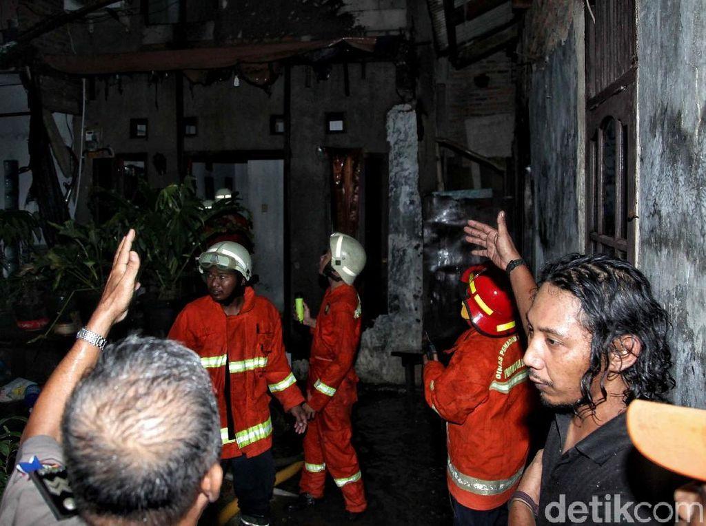 Satu Rumah Terbakar di Koja Jakut Karena Petasan