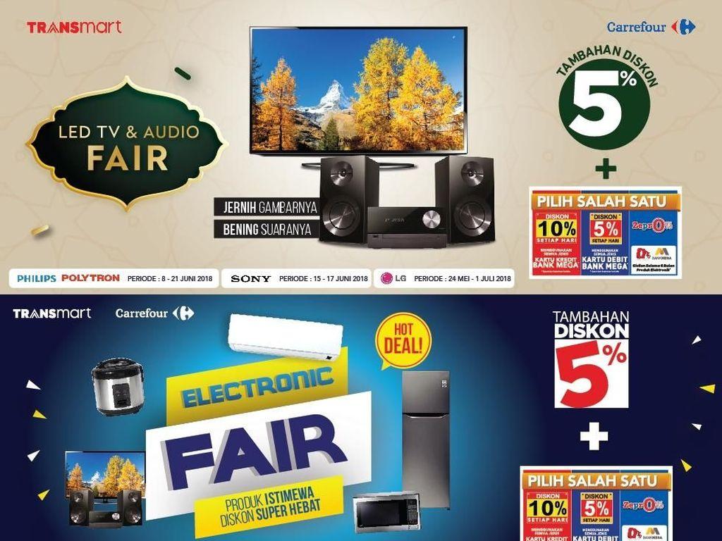 Serba Promo Elektronik di Transmart Carrefour
