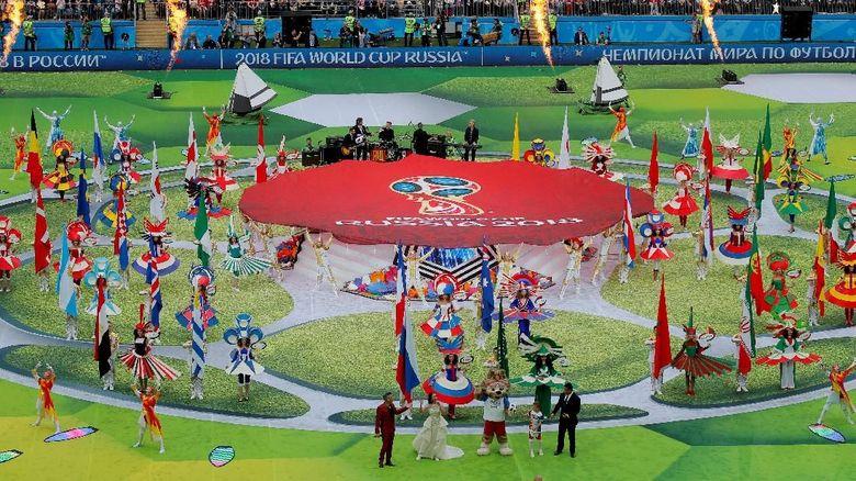 Piala Dunia  Resmi Digelar