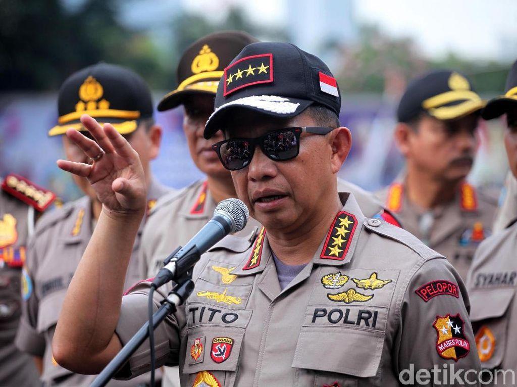 Kapolri: Polri Tak Sebut Kivlan Zen Dalang Kerusuhan 21-22 Mei