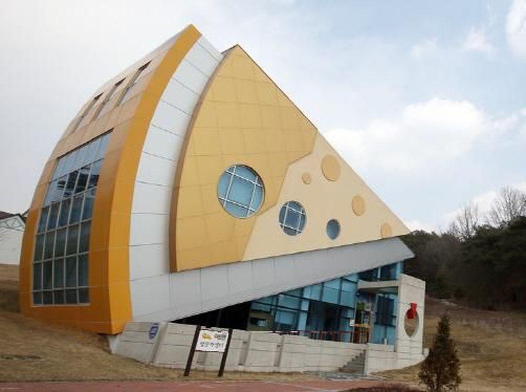 Foto: Taman Rekreasi Bertema Keju di Korea Selatan