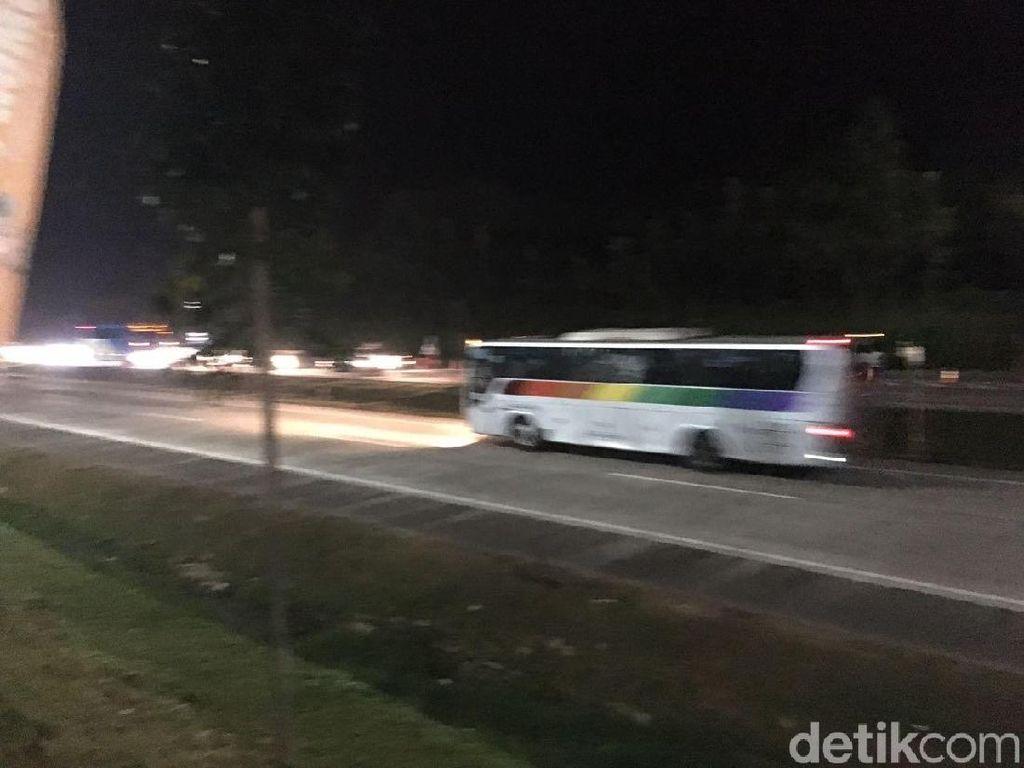 Contraflow Tol Cipali Km 101 Diakhiri, Lalin Arah Jakarta Lancar