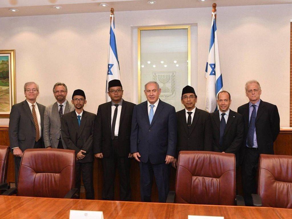 PA 212 Minta PBNU Pecat Yahya Staquf yang Bertemu PM Israel