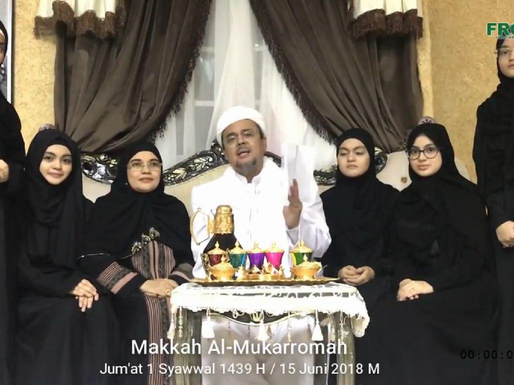 Habib Rizieq Klaim SP3 Kasus Chat, Istana Koordinasi ke Kapolri