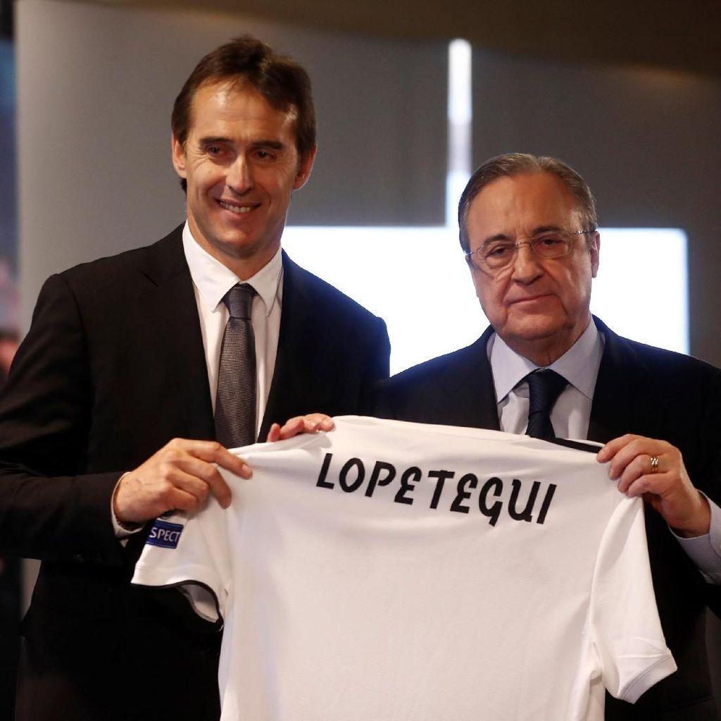 Air Mata Julen Lopetegui Saat Diperkenalkan Real Madrid