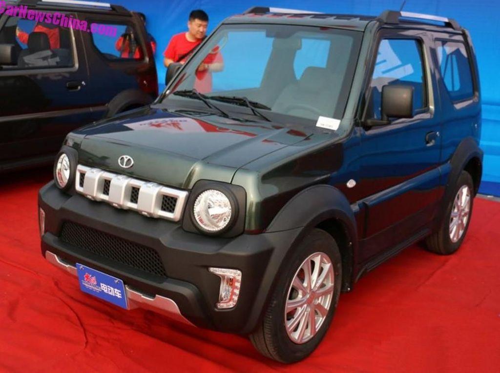Suzuki Jimny Listrik Meluncur di China, Tapi Kok...