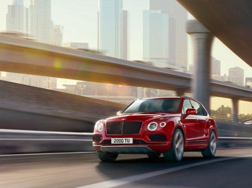 Alasan Bentley Bentayga Kenalkan Mesin V8 di Indonesia