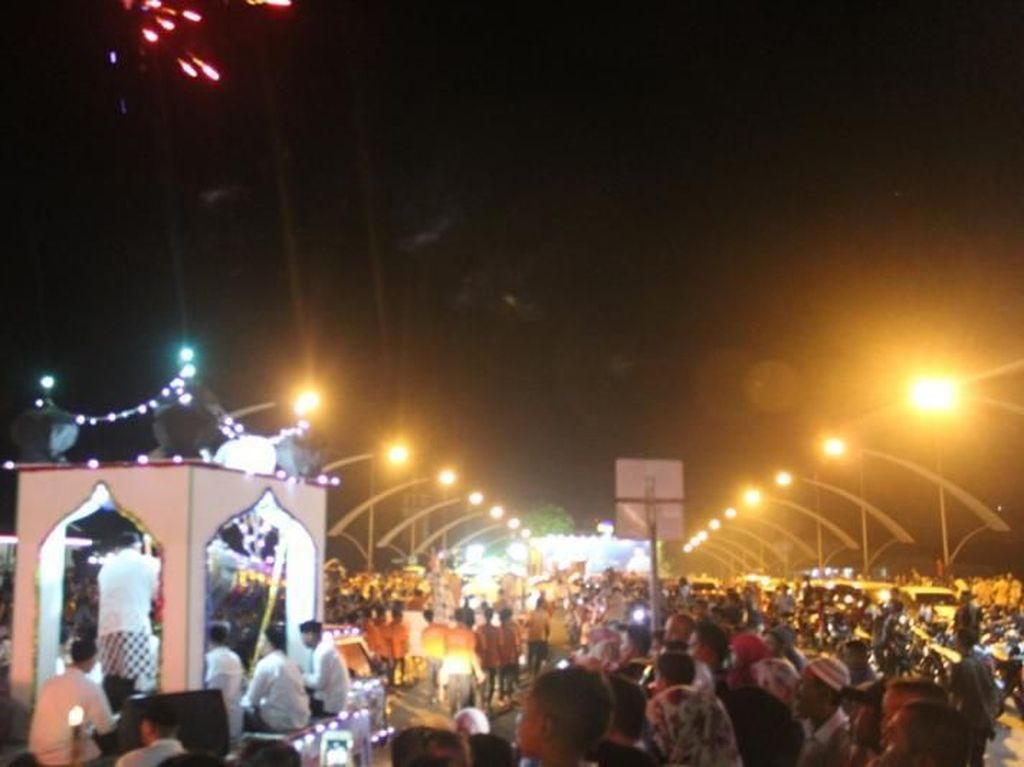 Ramainya Malam Takbiran di Kota Banda Aceh
