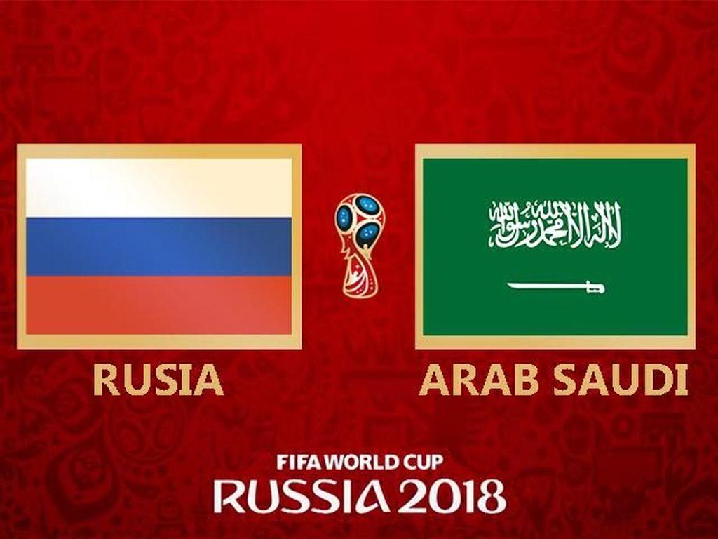 Video Highlights Rusia Vs Arab Saudi