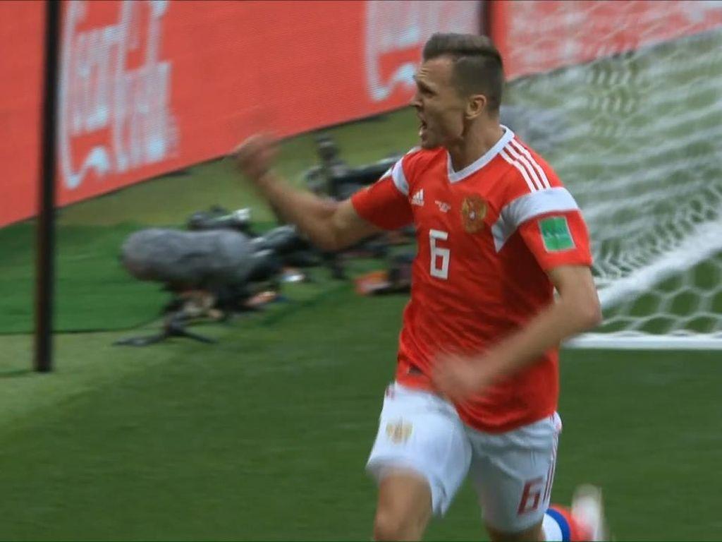 Dua Gol Cantik Cheryshev, Sang Super-sub Rusia
