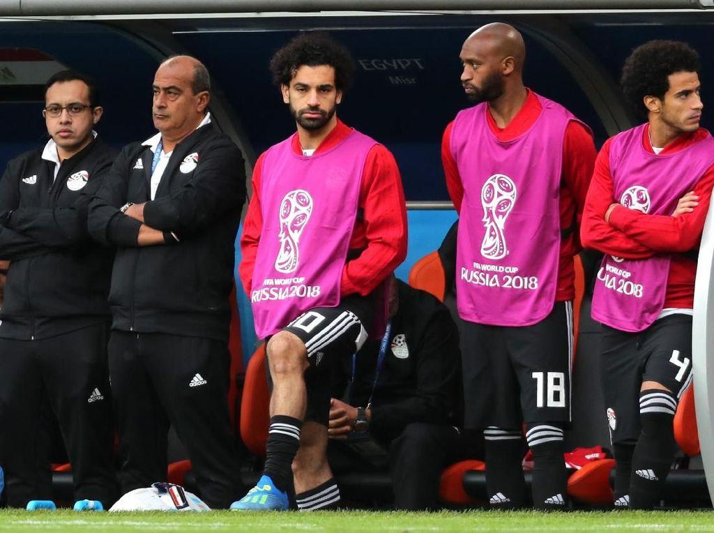 Kenapa Mohamed Salah Tak Dimainkan Menghadapi Uruguay?