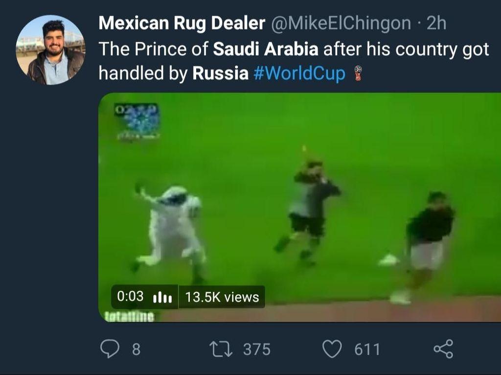 Digilas Rusia, Arab Saudi Juga Dihajar Meme