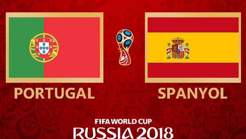 Highlights Babak I Portugal Vs Spanyol