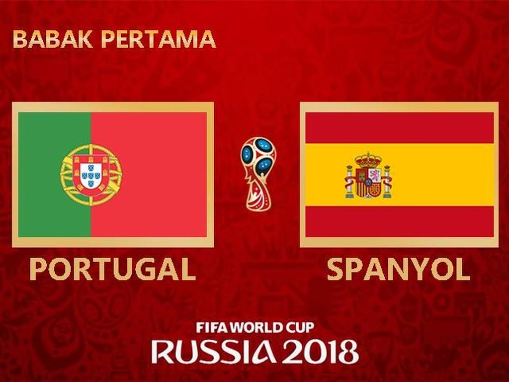 Highlights Babak I Portugal Vs Spanyol