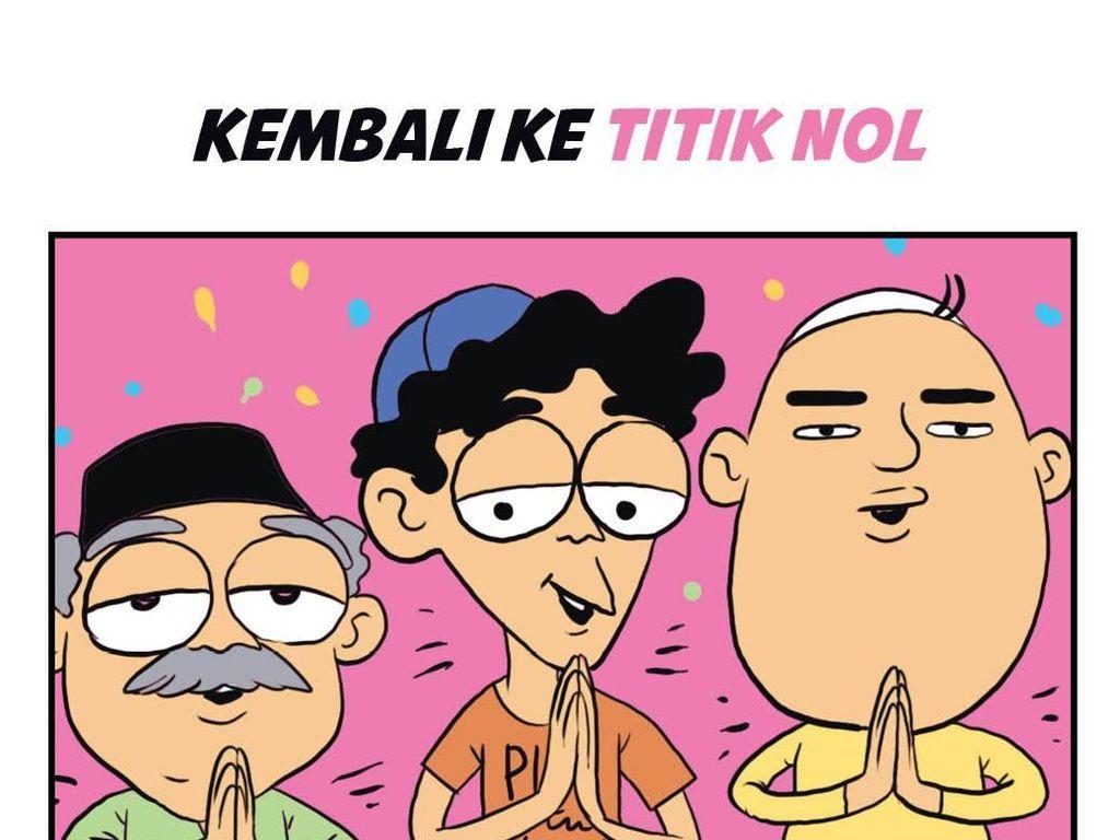 Taqobballallahu Minna Waminkum, Mohon Maaf Lahir dan Batin