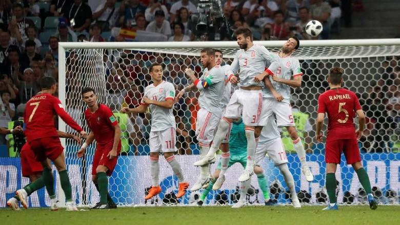 Punya Poin dan Selisih Gol Identik, Mengapa Spanyol di Atas Portugal?