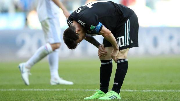 Lionel Messi dan kawan-kawan ditahan imbang Islandia.