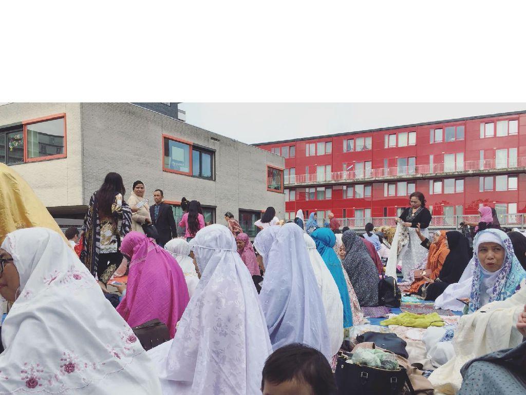 Foto: Merasakan Lebaran di Belanda