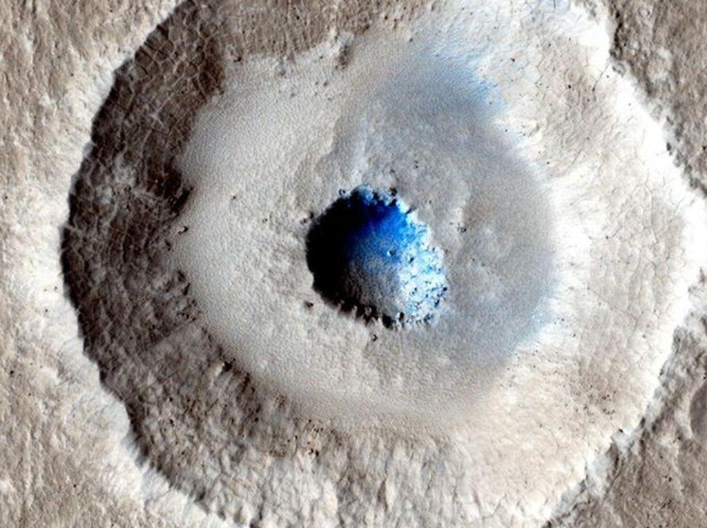 Deretan Potret Memukau Planet Mars dari Jarak Dekat