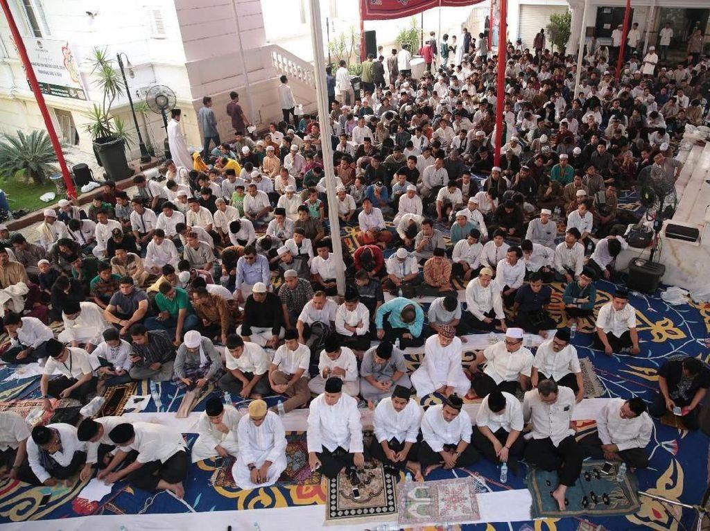 Antusiasme 3.000 WNI Rayakan Lebaran di KBRI Kairo