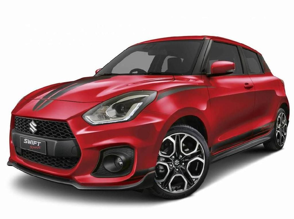 Suzuki Swift Sport Red Devil Cuma Dibikin 100 Unit