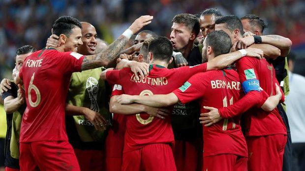 Timnas Portugal bermain imbang dengan Spanyol di laga pertama Piala Dunia 2018.