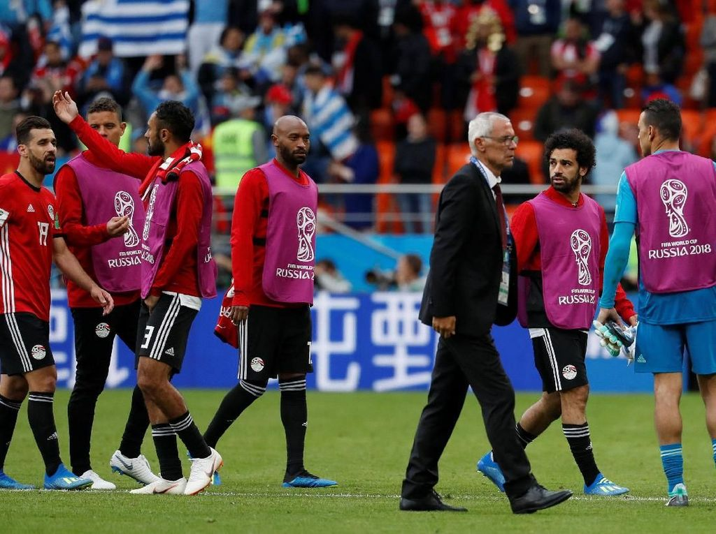 Pelatih Mesir Tak Ingin Ambil Risiko Buru-Buru Mainkan Salah