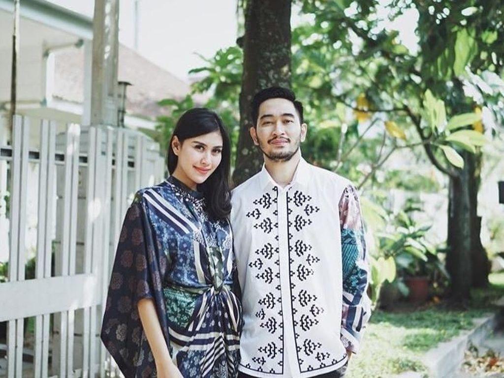 Lebaran Pertama Syahnaz dan Jeje Govinda Sebagai Suami-Istri