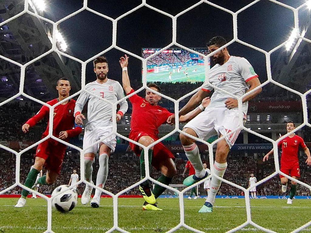 Hasil Pertandingan Piala Dunia 2018: Portugal vs Spanyol Skor 3-3