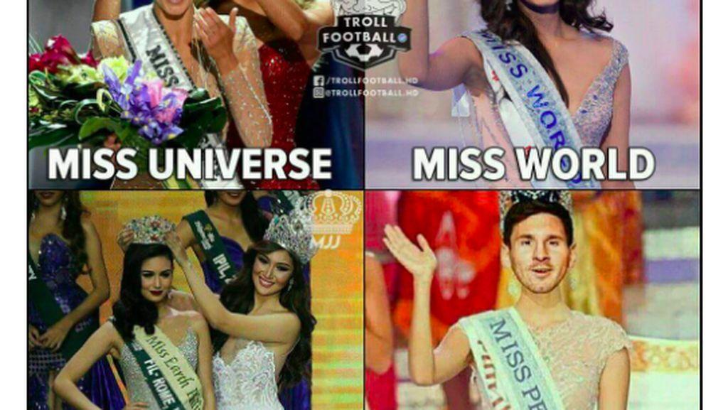 Gagal Penalti, Messi Jadi Bulan-bulanan Meme