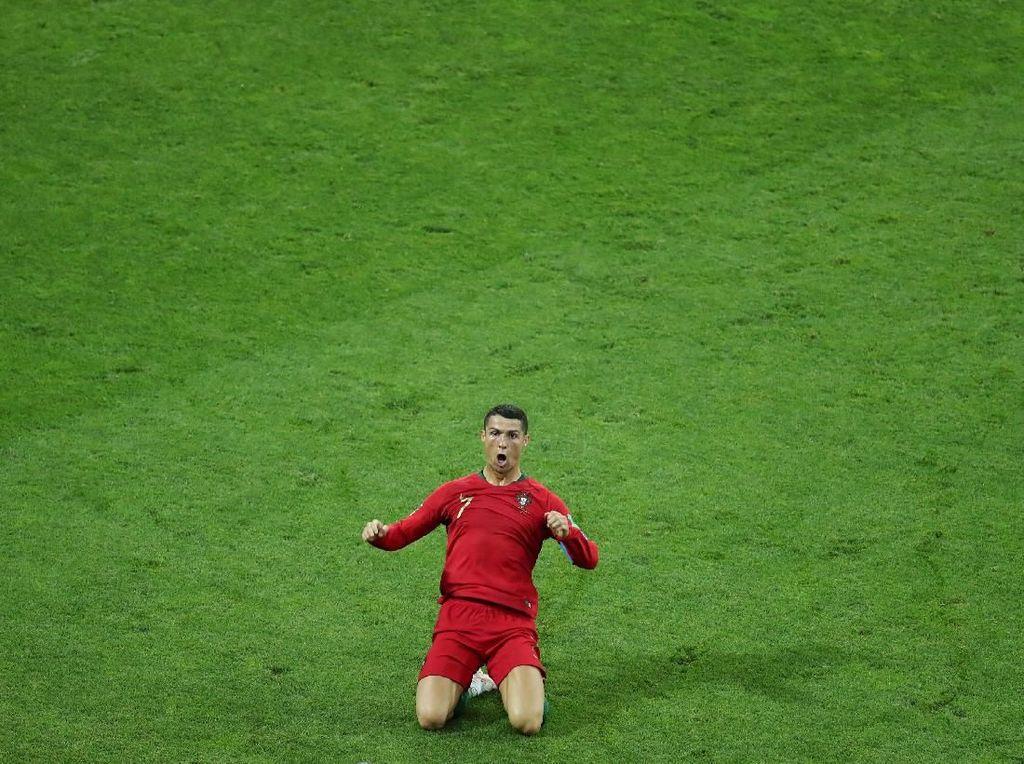 Cristiano Ronaldo Si Manusia Rekor