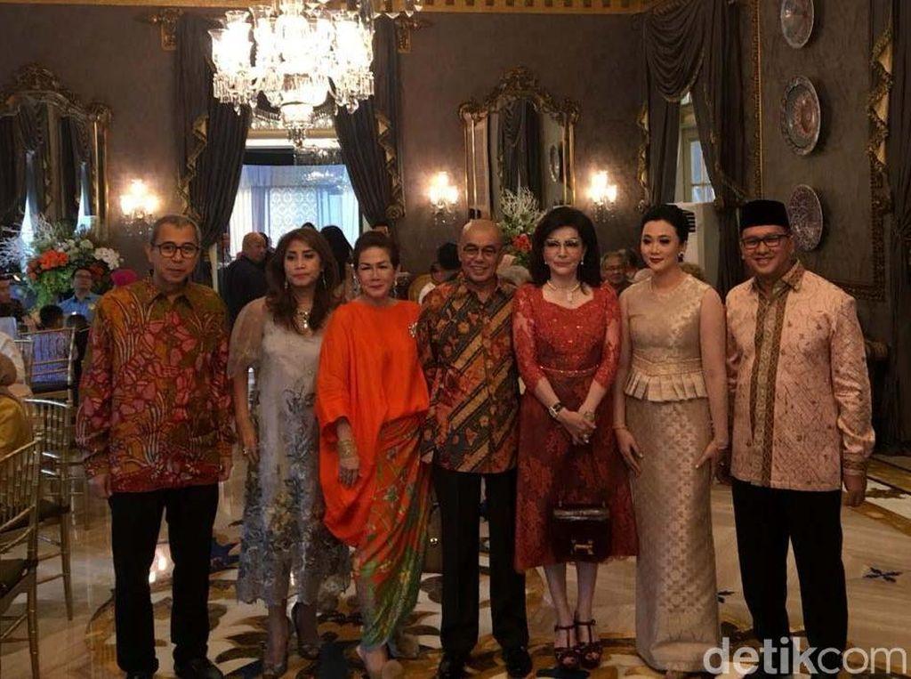 Mewahnya Halalbihalal Ketua Kadin yang Dibanjiri Tamu Penting